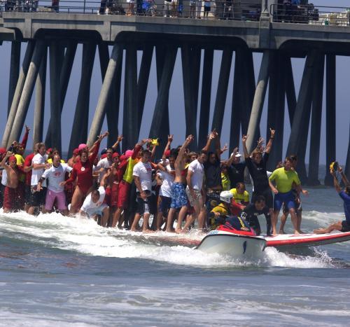 Huntington Beach Big Board