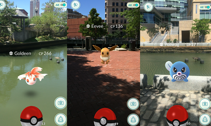 Waterplace Pokemon