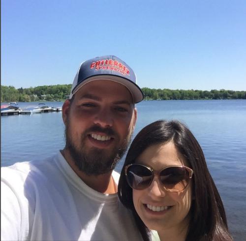 Selfie at Rose's on Reeds Lake