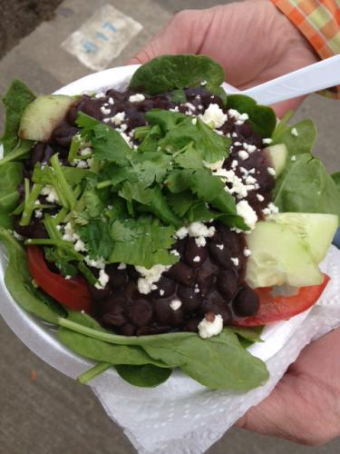 Healthy food at the YMBL South Texas State Fair