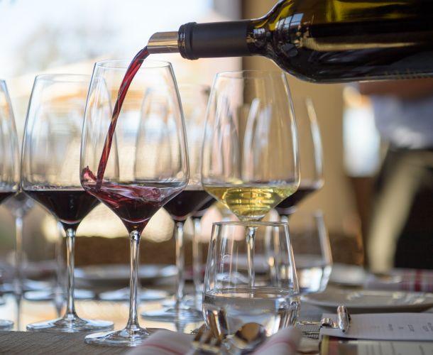 Napa Valley wine tasting