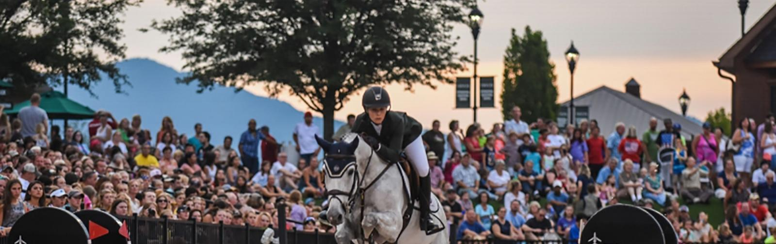 2018 FEI World Equestrian Games near Asheville, North Carolina