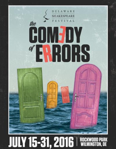 Delaware Shakespeare Festival Presents, A Comedy of Errors