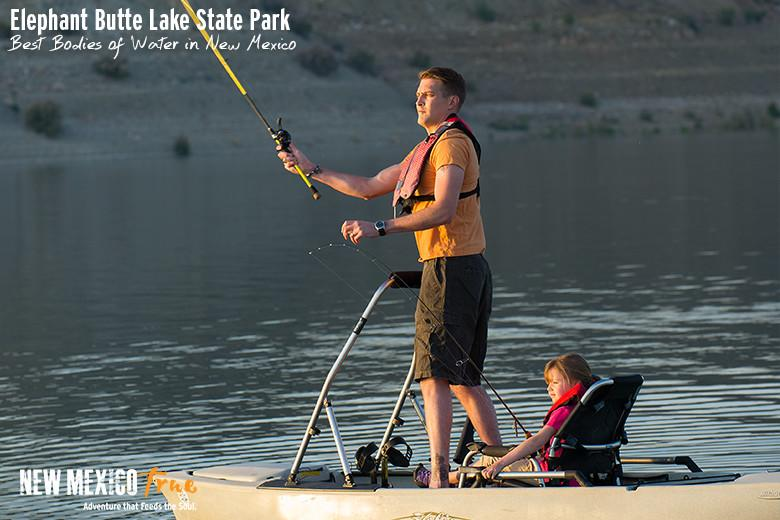 Striper Bass Fishing at Elephant Butte Lake State Park