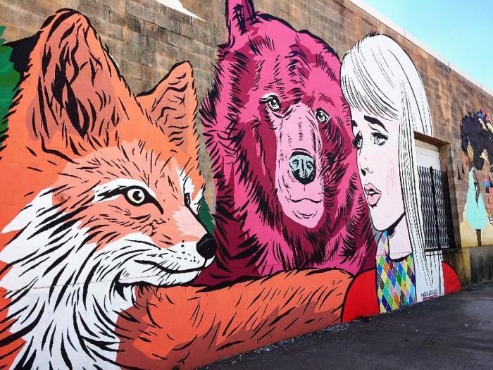 Houston Mural 2 - Yo Mariana