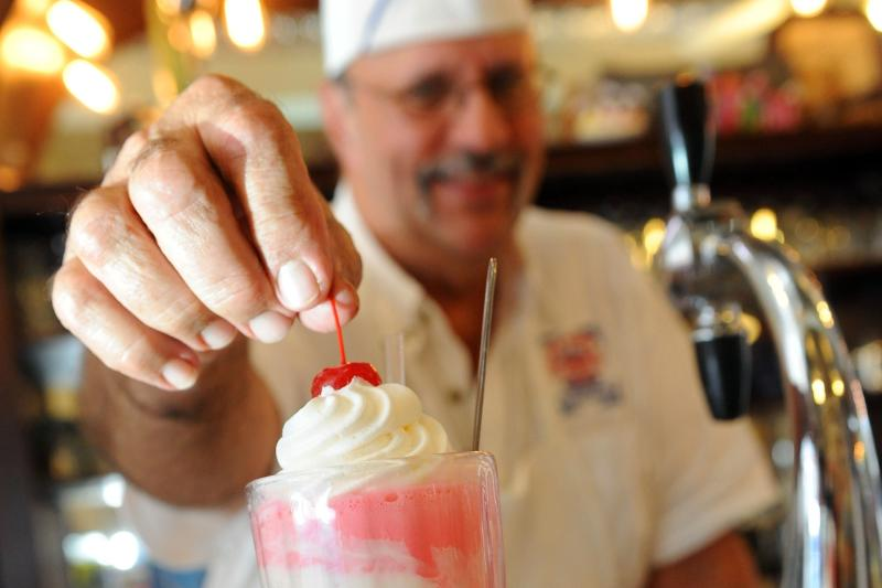 Old Town Soda Shop is a favorite for sweets in  Slidell