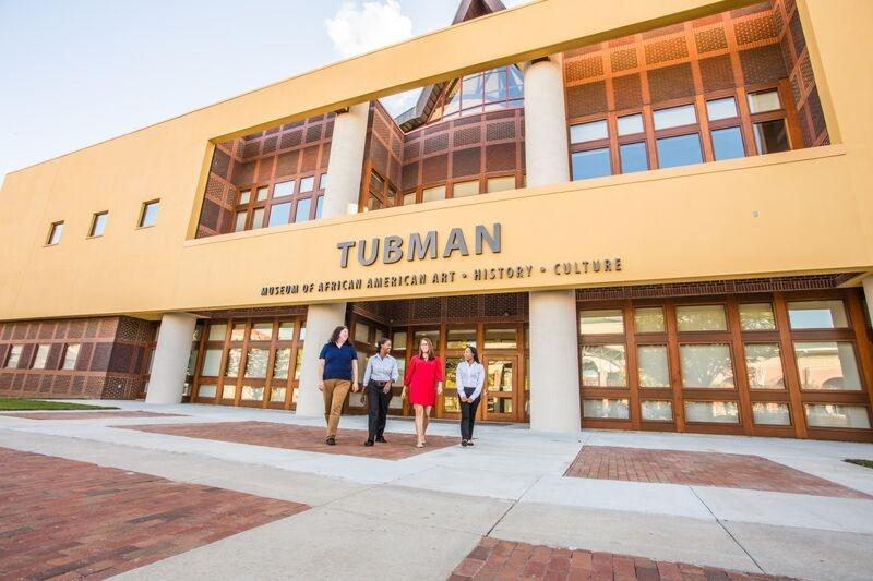 Tubman Museum Building Front