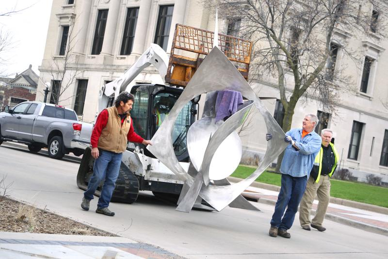 Sculpture Tour - 2015 - Photo by: Andrea Paulseth/Volume One