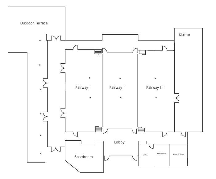 Concourse Floor Diagram