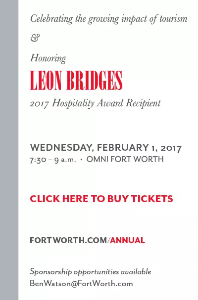 Fort Worth CVB Annual Meeting - Wednesday, February 1