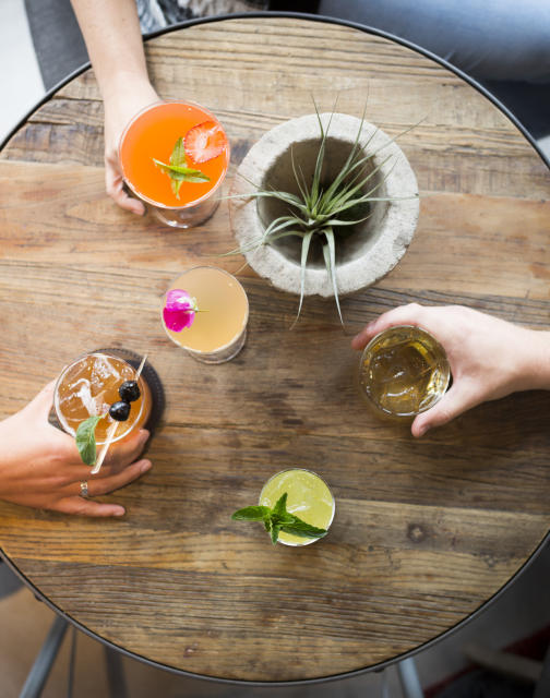Cocktails at Lucia Restaurant & Bar