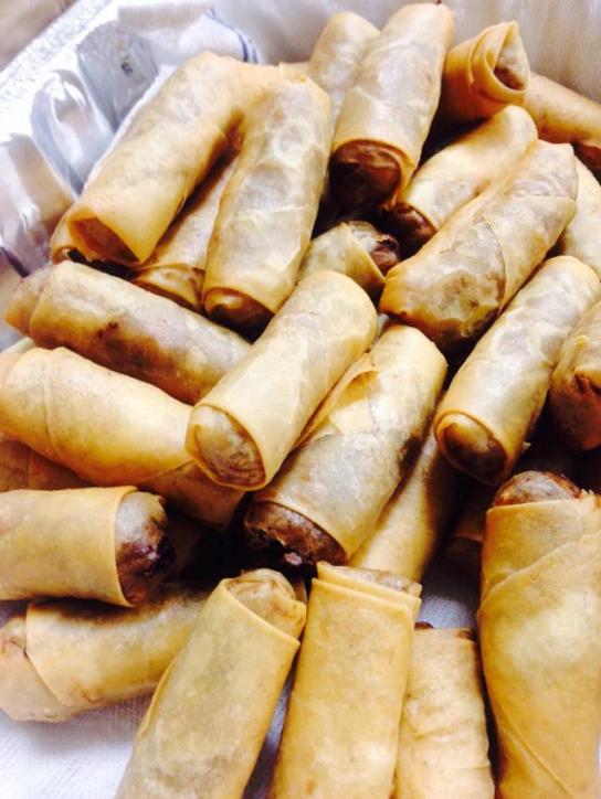 Velvet Pig Eggrolls made in Lake Charles, Louisiana.