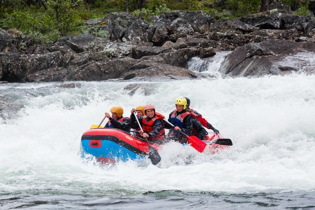 Whitewater rafting in Geilo