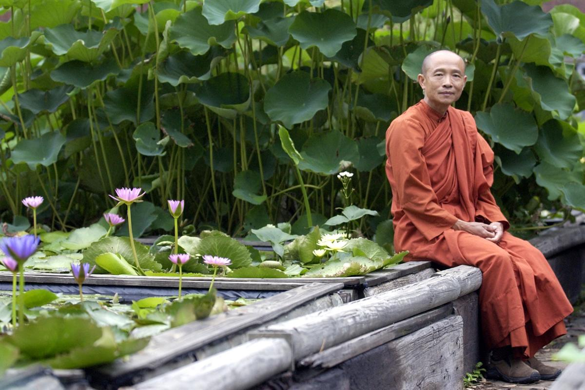 Buddhist Outside The Buu Mon Buddhist Temple