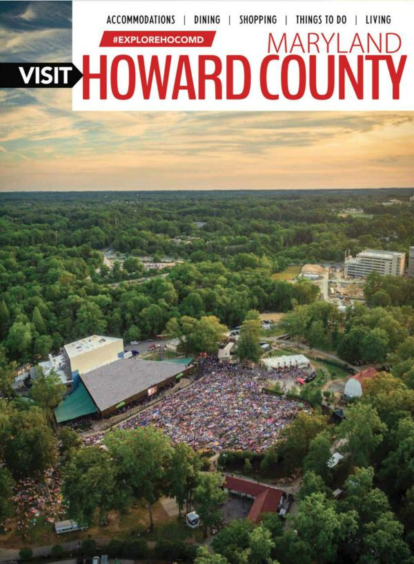 2017 Howard County Visitor Guide Cover