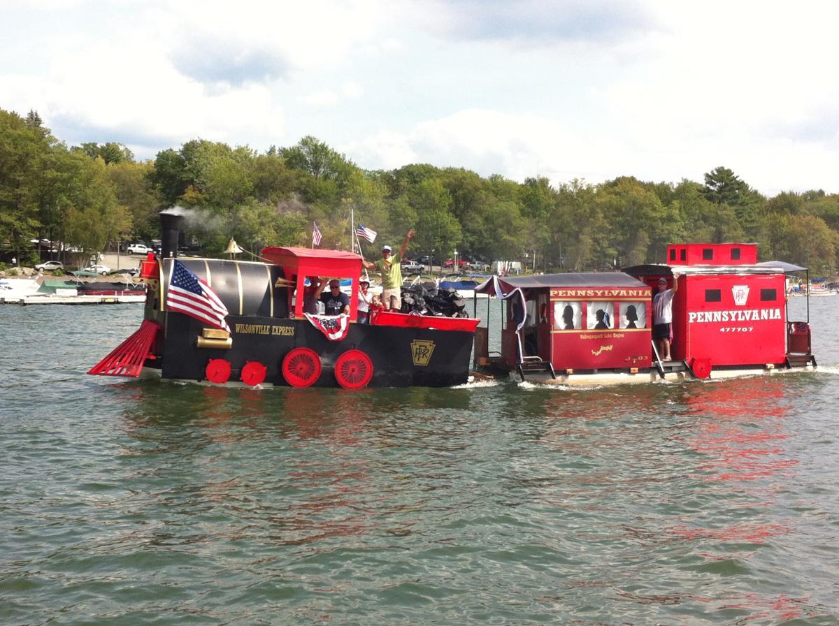 Wally Lake Fest on Lake Wallenpaupack