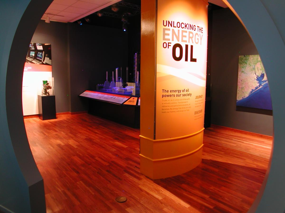 Texas Energy Museum Interior