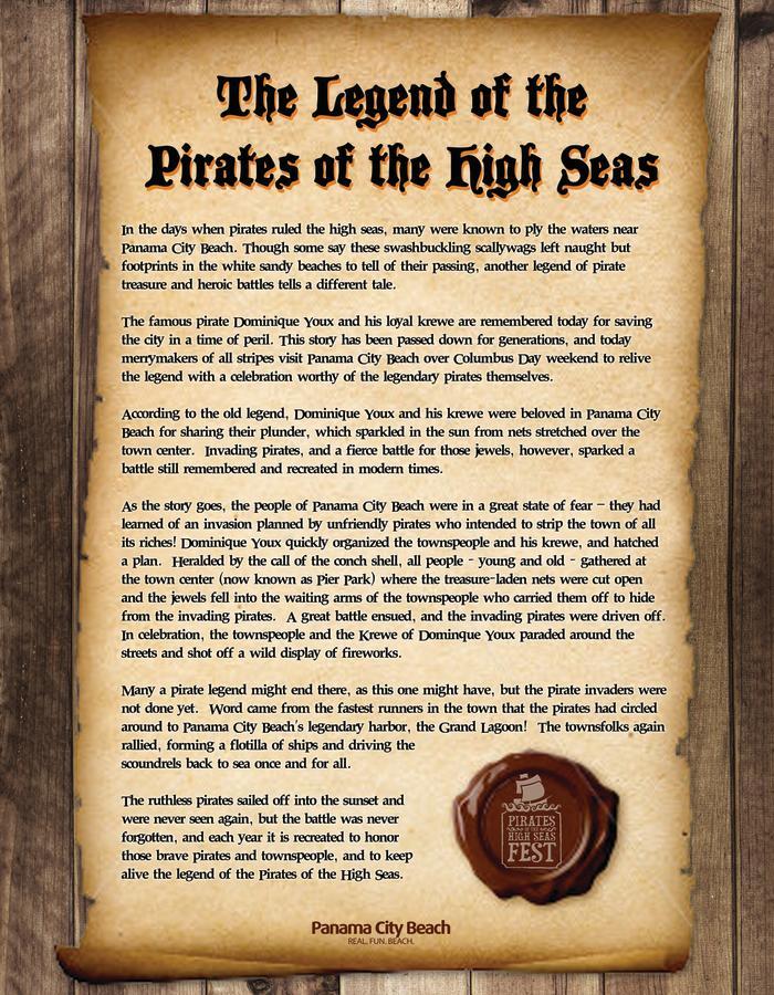 Pirates of the High Seas Panama City Beach Florida