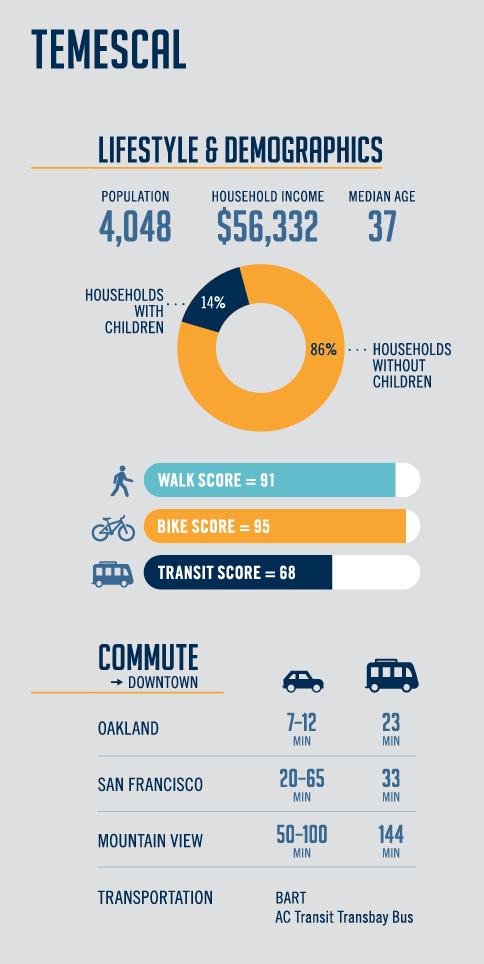 Temescal Demographic Infograph