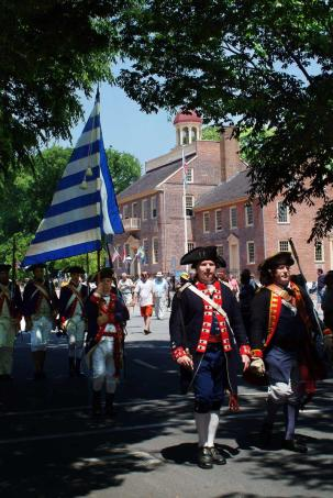 Historic New Castle Separation Day Parade