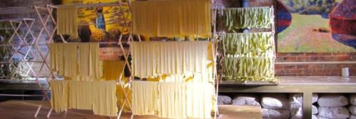 Hand-made pasta at the Local Epicurean in Grand Rapids