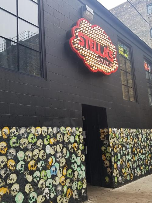 Outside view of Stella's in Grand Rapids