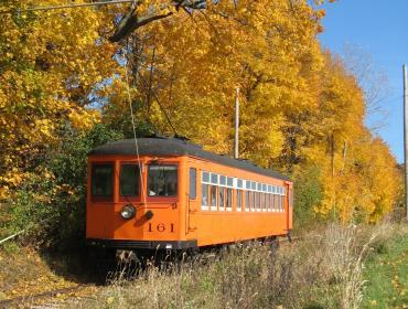 Fall Foliage by Trolley