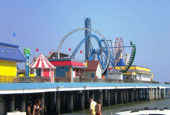 Galveston Island Historic Pleasure Pier – Galveston Tourist Attractions Map