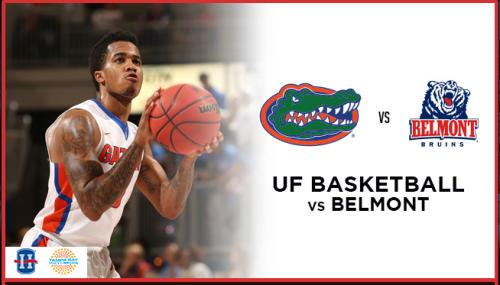 UF Basketball vs. Belmont
