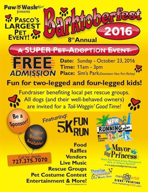Barktoberfest 8th Annual Pet Event