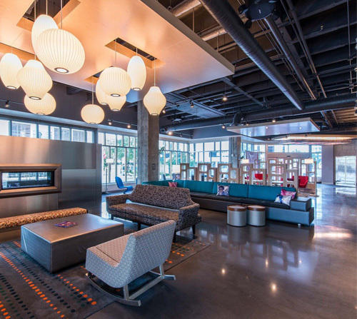 Aloft Tampa Downtown - Pay Your Birth Year Hotel Rate!