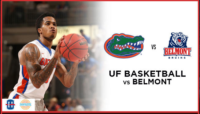 UF Basketball vs. Belmont
