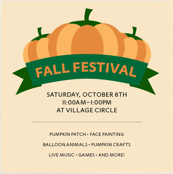 Hyde Park Village Circle Fall Festival Month