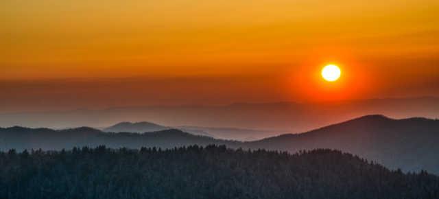 GSMNP Sunset