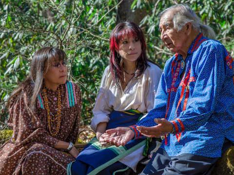 Storyteller Cherokee Man