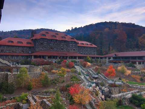 Fall at Omni Grove Park Inn