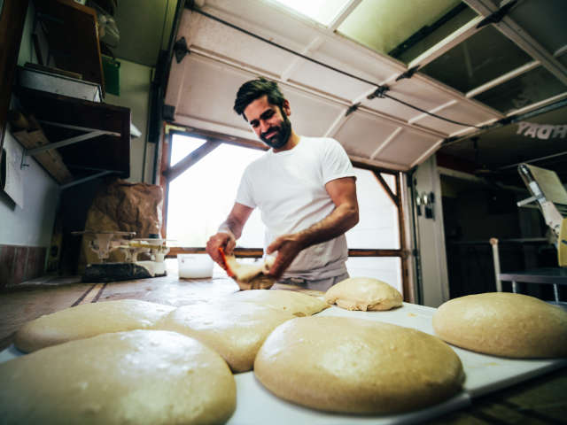 Dave Bauer - Farm & Sparrow Bakery and All Souls Pizza