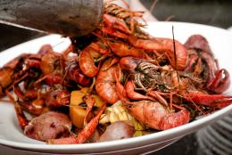 Texas Creole Crawfish Boil–Brennan's of Houston