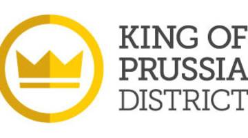 KING OF PRUSSIA DISTRICT LOGO