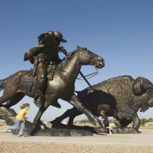 Buffalo Bill Sculpture