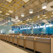 Cruise Terminal 4 Check-In Counters