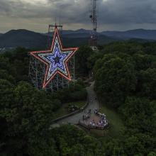 Roanoke Star - Red, White & Blue