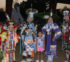 National Powwow dancers