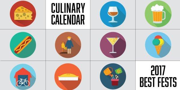2017 Culinary Calendar