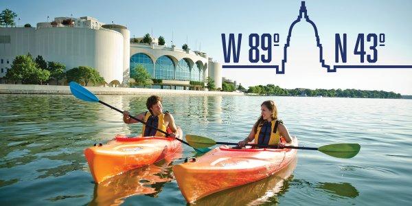 Kayak: Outdoor Adventure at 43° N, 89° W - Madison, WI