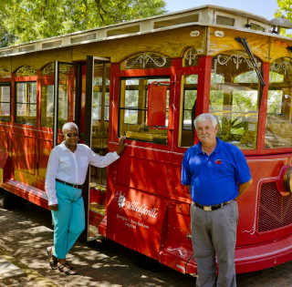 Milledgeville Haunted Trolley Tour