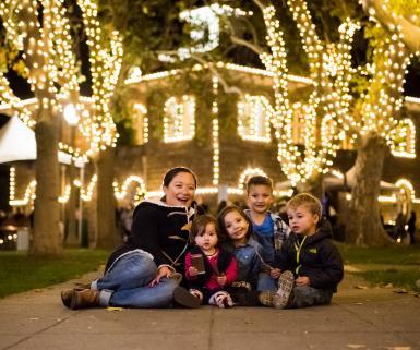 Family Night lights