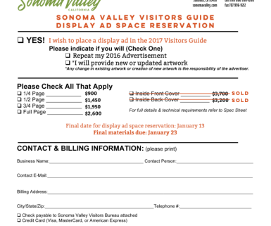 Visitors Guide Application
