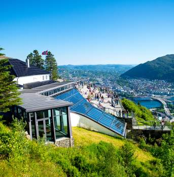 View from Mount Floyen