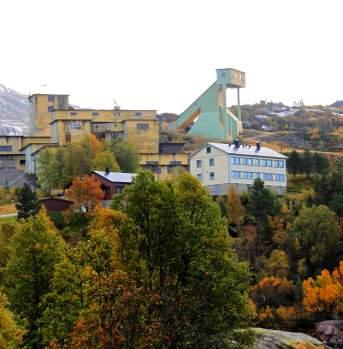 Knaben old mining town Kvinesdal southern Norway
